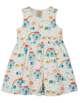 Frugi At the Taj Menna Party Dress