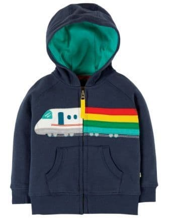 Frugi Bullet Train Hayle Hoody