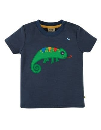 Frugi Chameleon Scout Applique Top