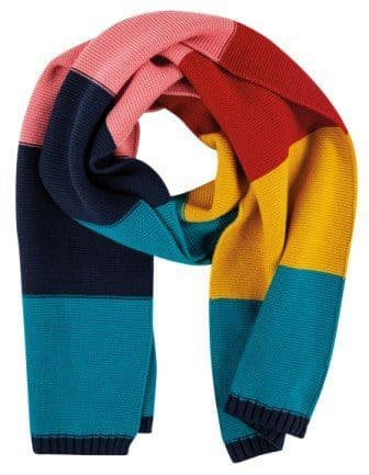 Frugi Cosy Knitted Scarf Multistripe