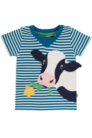 Frugi Cow Easy On Tee