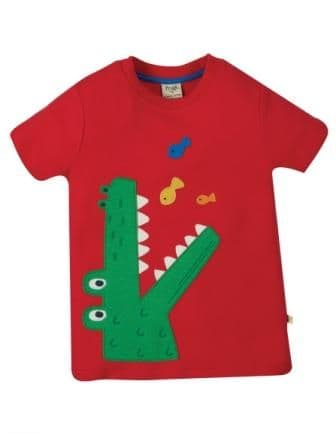 Frugi Croc Carsen Applique T-shirt