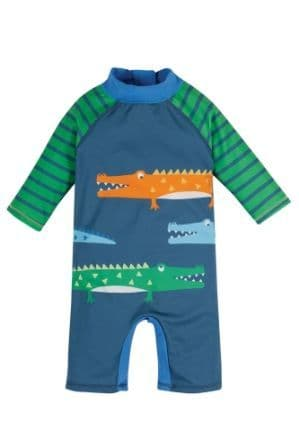Frugi Crocs Little Sun Safe Suit