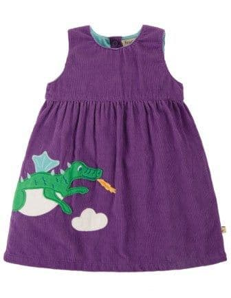 Frugi Dragons Lily Cord Dress