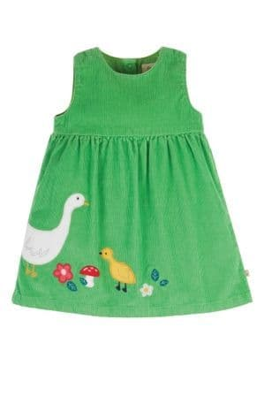 Frugi Duck Lily Cord Dress