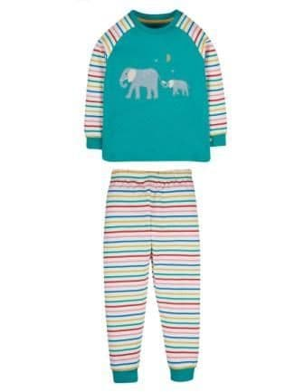 Frugi Elephants Jamie Jim Jams