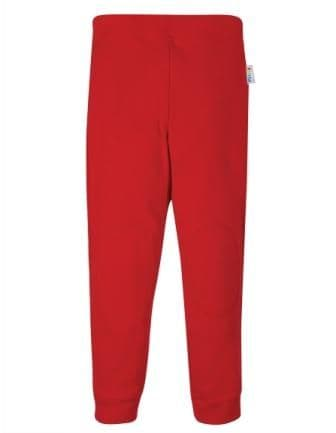 Frugi Everyday Cuffed Leggings Red