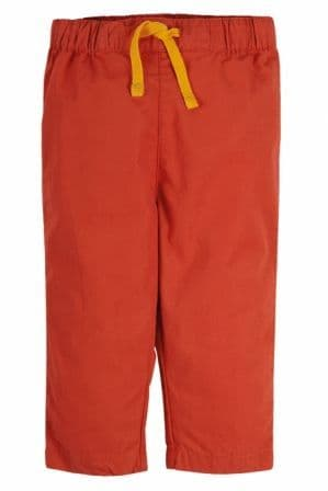 Frugi Falun Red Tommy Trousers