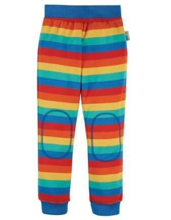 Frugi Favourite Cuffed Rainbow Stripe