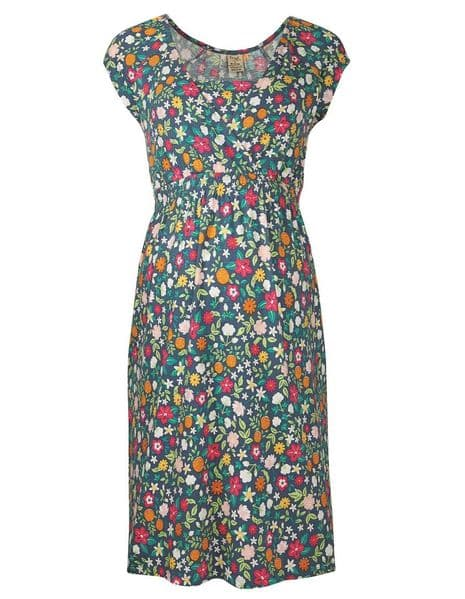 Frugi Flower Valley Spring Maternity & Nursing Dress