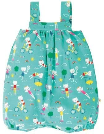 Frugi Fun at the Games Beau Beach Dungarees