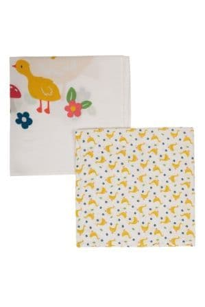 Frugi Gaggle of Geese Lovely Muslin 2 pack