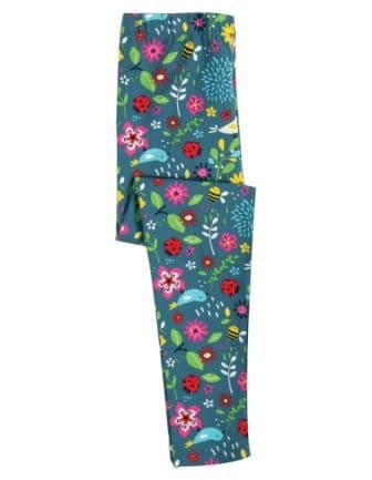 Frugi Garden Friends Libby Leggings