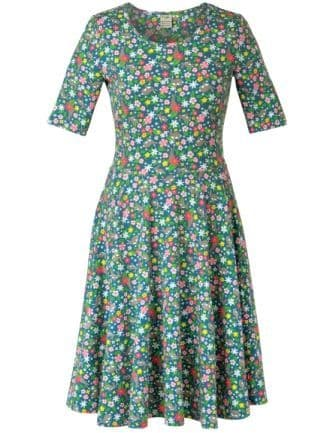 Frugi Grown Ups Skater Dress Rabbit Fields