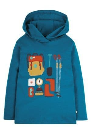 Frugi Hiking Campfire Hooded Top