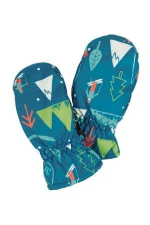 Frugi Hit the Slopes Snow and Ski Mittens