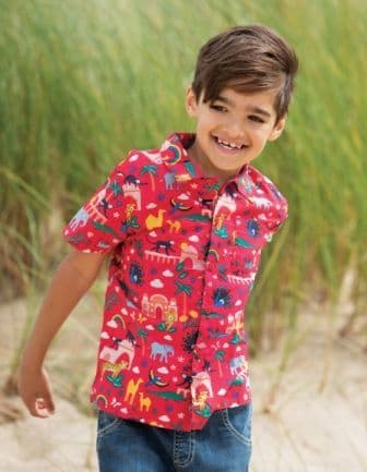 Frugi India Harvey Hawaiian Shirt
