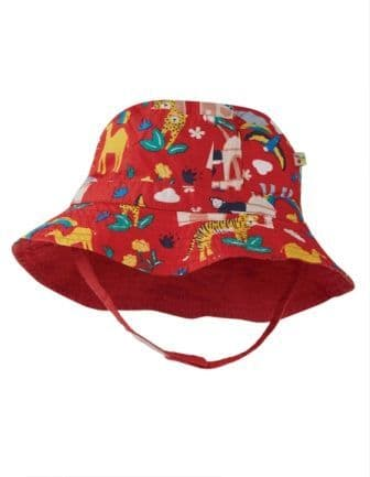 Frugi India Little Dexter Reversible Hat