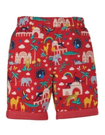 Frugi India Ralph Reversible Shorts