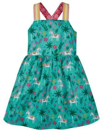 Frugi Indian Horse Essie Reversible dress