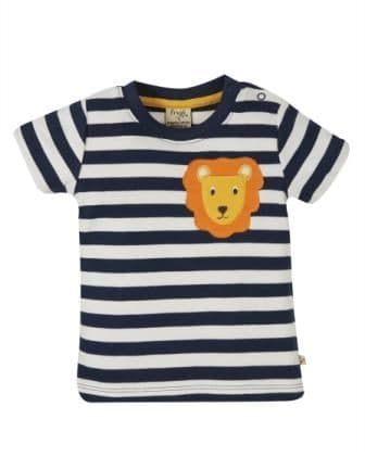 Frugi Lion Polzeath Pocket Top