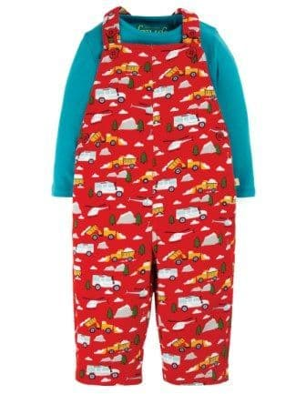 Frugi Mountain Rescue Rae Dungaree Outfit