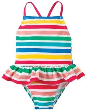 Frugi Mullion Swimsuit Summer Stripe