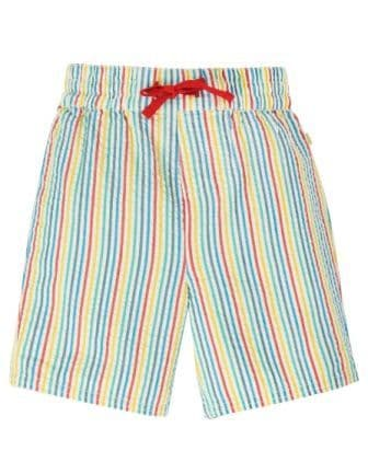 Frugi Multi Seersucker Stripe Akiara Shorts
