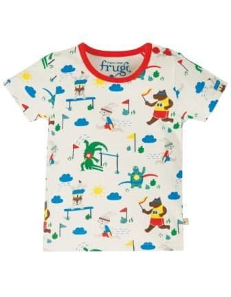 Frugi On your Marks Alby Top