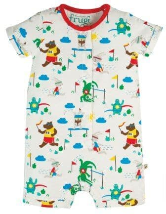 Frugi On your Marks Orin Romper