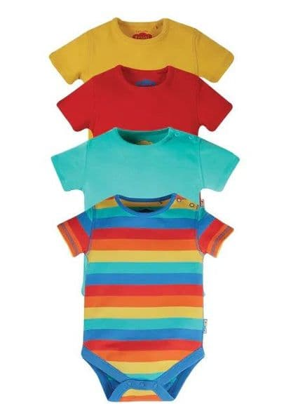Frugi Over the Rainbow Body 4 pack