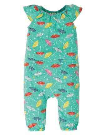 Frugi Parasols Niamh Gathered Playsuit