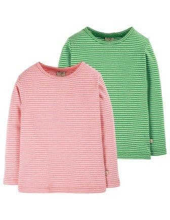 Frugi Pointelle Tops 2 pack AW20