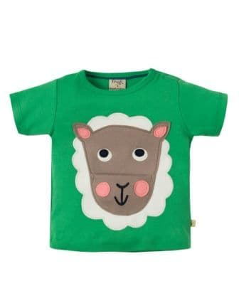 Frugi Polzeath Pocket Top Field Sheep