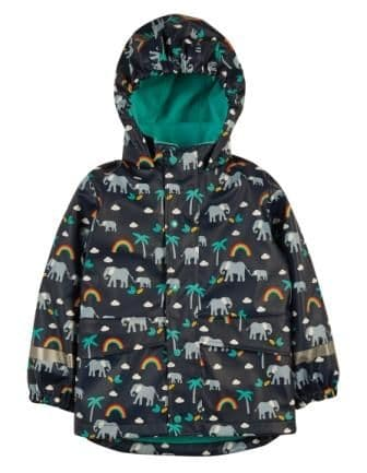 Frugi Rainbow Walks Puddle Buster Coat