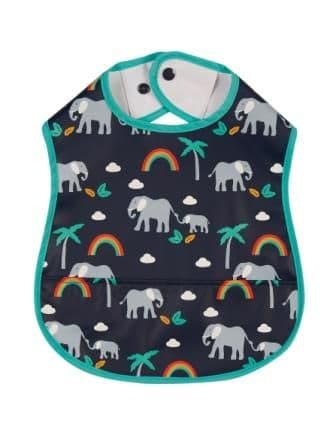 Frugi Rainbow Walks Spick & Span Bib