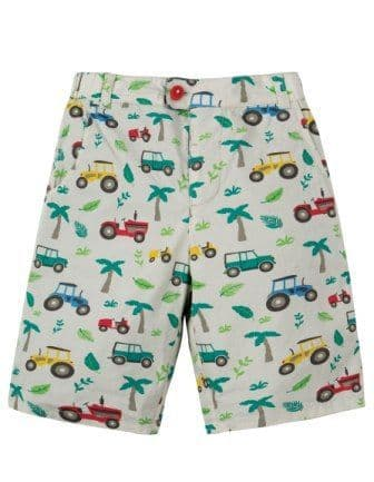 Frugi Reuben Reversible Shorts Tropical Tresco