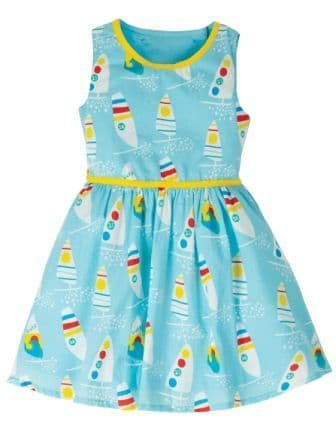 Frugi Ride the Waves Immy Woven Dress