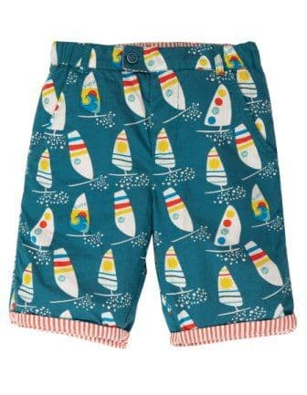 Frugi Ride the Waves Reuben Reversible Shorts