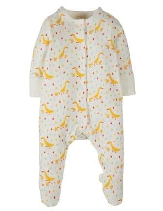 Frugi Runner Ducks Lovely Little Babygrow