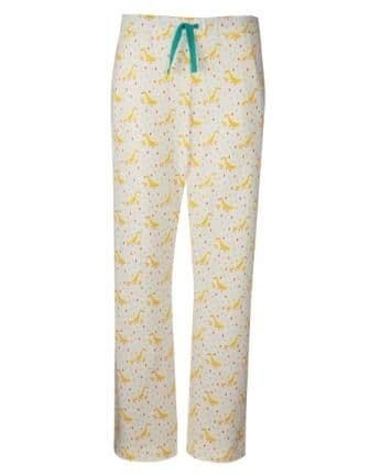 Frugi Runner Ducks Pansy PJ Bottoms