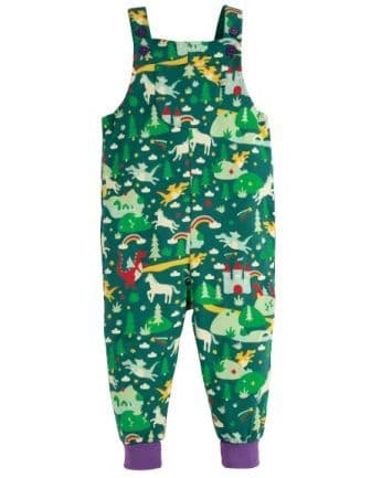 Frugi Scots Pine Fairytale Parsnip Dungarees