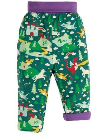 Frugi Scots Pine Fairytale Rory Reversible Pull Ups