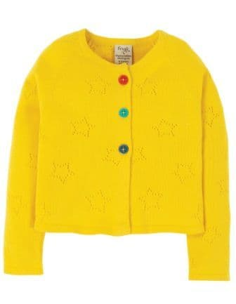 Frugi Sunflower Carrie Knitted Cardigan