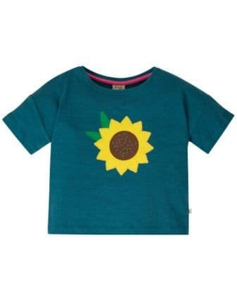 Frugi Sunflower Myla T-Shirt
