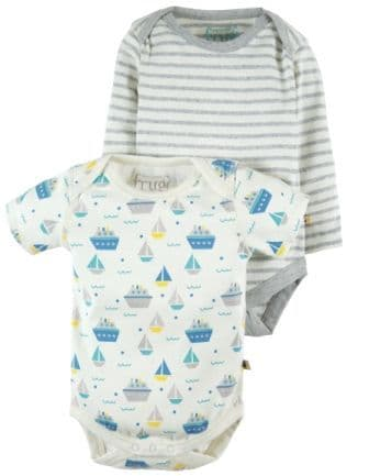 Frugi Teeny Body 2 pack Summer Seas Multipack