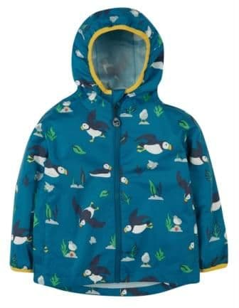 Frugi The National Trust Pioneer Puffin Packaway Jacket