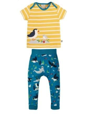 Frugi The National Trust Puffin Olly Outfit