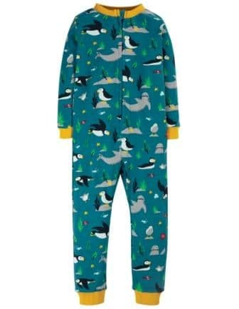 Frugi The National Trust Puffin Zennor All in One