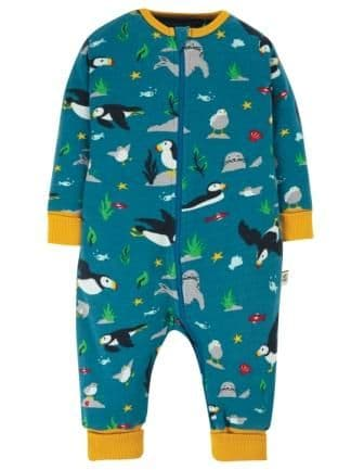 Frugi The National Trust Puffin Zennor Zip Up
